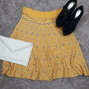 Anthropologie Nic and Mo sweater skirt